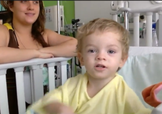 Family aches to be near boy with rare disease