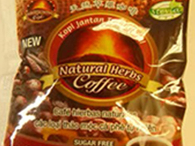 This coffee is being recalled because it contains a Viagra-like ingredient