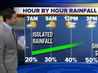 Numerous showers, thunderstorms this afternoon