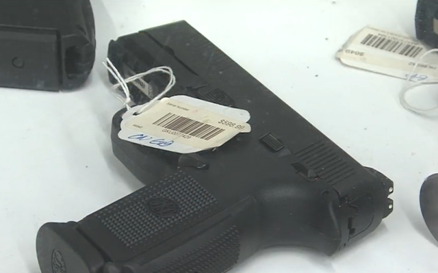 Gun sales exceeding expectations- seller sees more handguns sold
