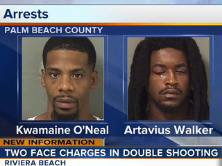 2 charged in Riviera Beach double shooting