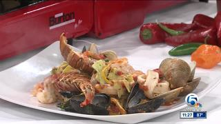 Romeo's cooks up lobster tail