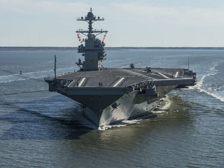 Trump to attend commissioning of USS Gerald Ford