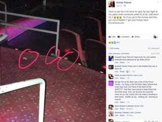 Patrons report rodents at CityPlace movie cinema
