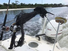 Lightning strikes boat off Jupiter