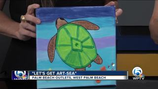 'Let's Get Art-Sea' at Palm Beach Outlets