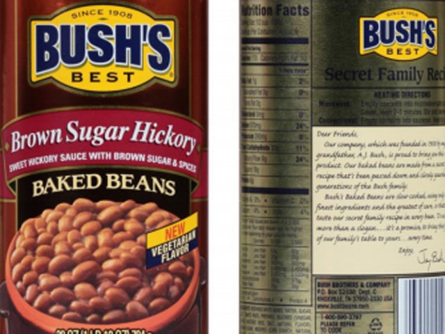 Bush recalls 3 flavors of baked beans