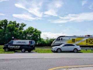 Person struck by Brightline train in Boca Raton