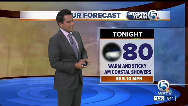 South Florida weather 7-25-17 - 11pm report