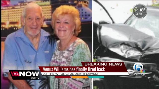 Venus Williams claims fatal auto crash victim 'was not wearing seatbelt'