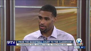 Fmr. Miami basketball player teaches coding
