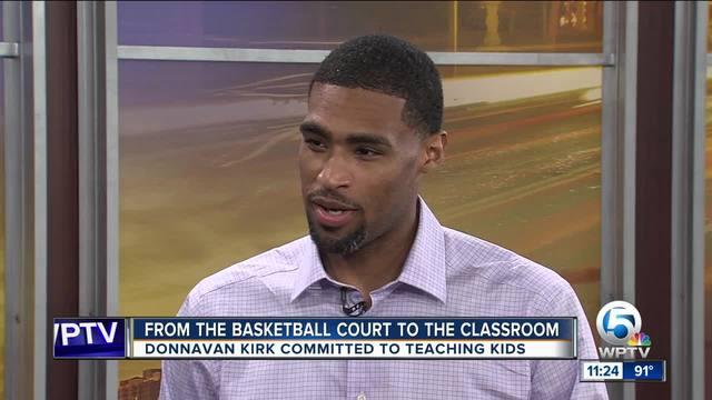 Former Univ- of Miami basketball player teaches coding skills at TK2 Coding