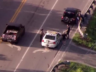 Bicyclist hit by vehicle in suburban West Palm