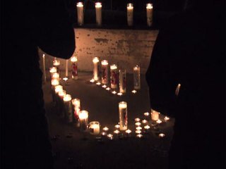 Candlelight vigil held for beloved mother