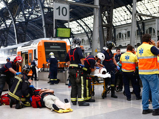 50 injured in Barcelona train station accident