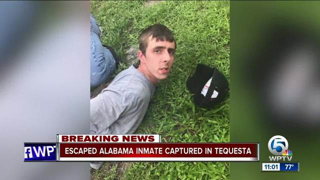 Florida police capture last escaped inmate from Alabama peanut butter caper
