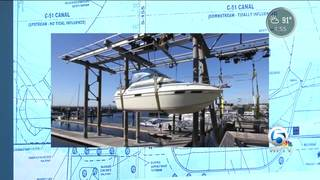 Neighbors concerned over boat lift project