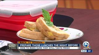 Prepare fresh school lunches