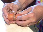 Missing diamond ring found on carrot