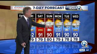 High rain chances this weekend