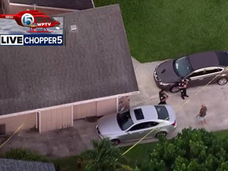 Man cleaning gun shoots self in Royal Palm