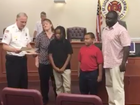 Man & two brothers honored as heroes
