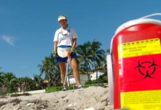 Medical waste found along beaches in Palm Beach