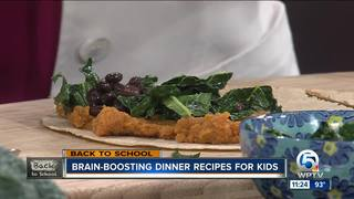 Brain-boosting dinner recipes for kids