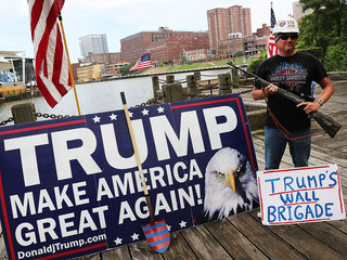 Trump's supporters show no signs of straying