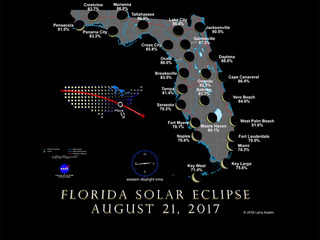 GRAPHIC: Map shows how much eclipse you'll see