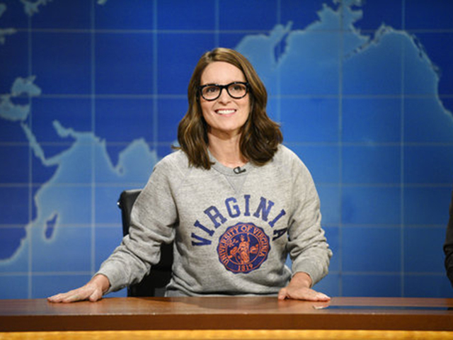 Tina Fey blasts Trump, Nazis in return to 'SNL'