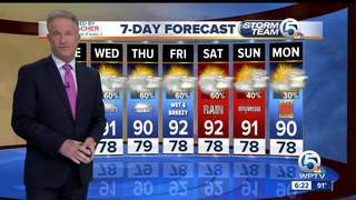 Much drier day, but rain returns quickly Tuesday