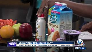 Pack a healthy lunch for your children