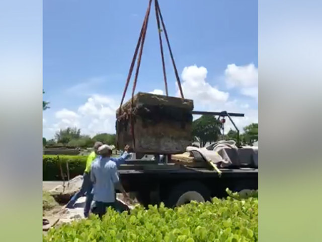 Confederate monument removed in West Palm