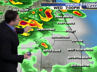 Numerous showers and storms