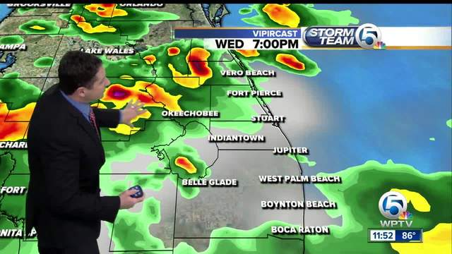 South Florida Wednesday afternoon forecast -8-23-17-