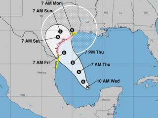 Harvey to dump heavy rains on Texas