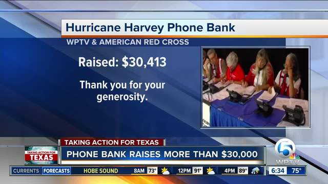 Fox 13 partners with American Red Cross for Hurricane Harvey Relief Telethon