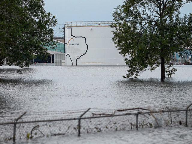 CEO of Flooded Texas Chemical Plant: There's 'No Way to Prevent' Explosion