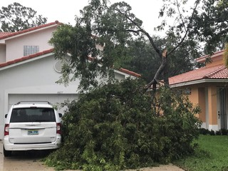 Hurricane Irma strikes Florida