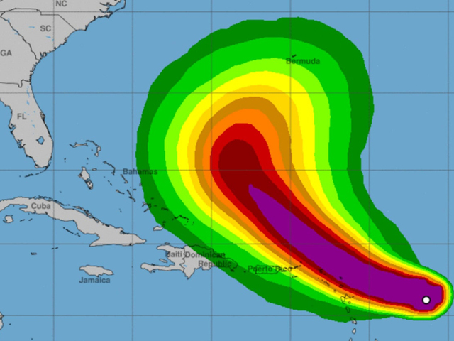 Hurricane Jose could pose threat to East Cost