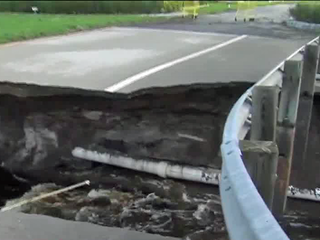 Hole opens in Indiantown