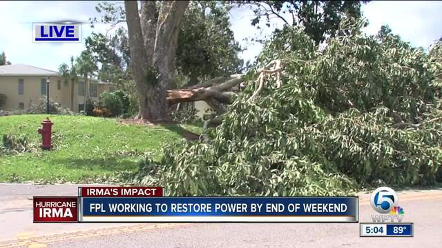 Florida power outage map: How to check who has power