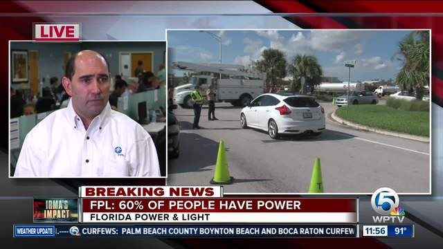 Power Restored to 4.8 Million Floridians Impacted by Hurricane Irma