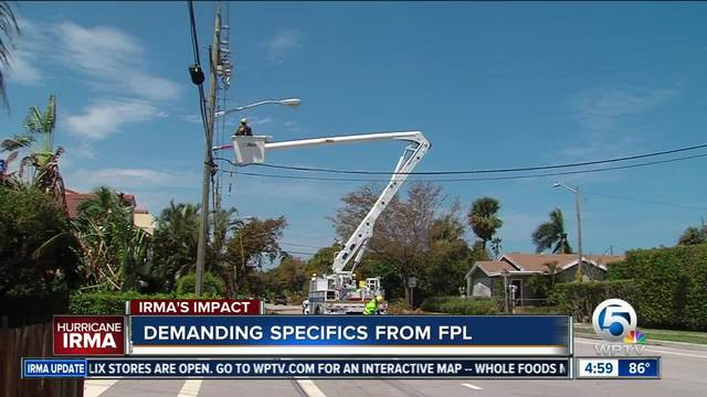 Power Being Restored in Florida After Hurricane Irma