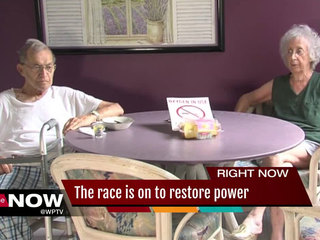 Residents endure life without electricity