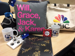 Win items from your favorite NBC shows, WPTV