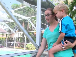 Pool fence damage poses drowning risk