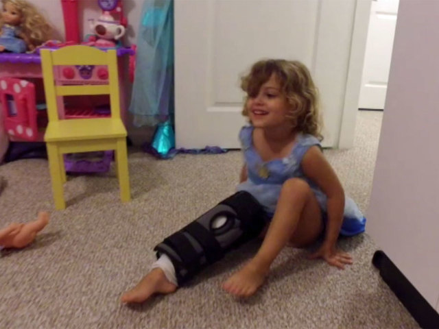 4-year-old girl recovering after shark bite