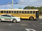 Students not hurt after bus crash